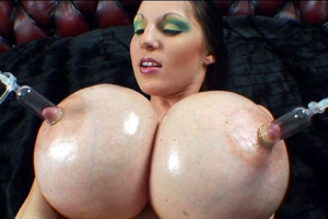 Swollen Big Boobs with Puffy Nipples
